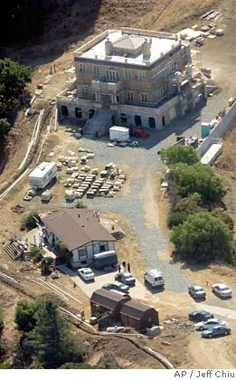 Pamela Vitale Crime Scene Overhead                                 View of Property Credi to AP/Jeff Chiu